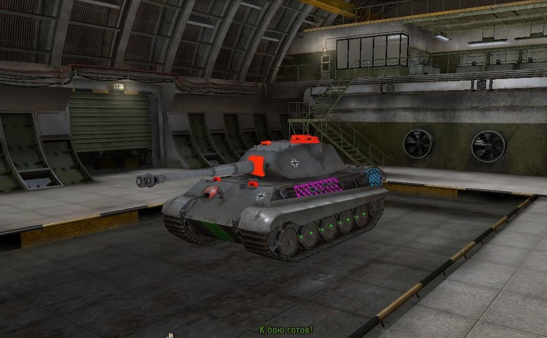 широкие машинные фото танков с зонами пробития поляне меня встретили